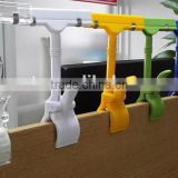 Colorful Plastic Shelf Pop Holder Clip RH-RSAT03