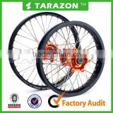 "Motocross 21"" 19"" Front Rear Alloy Wheel Rims Set For KTM EXC SX SXF 125 250 450"