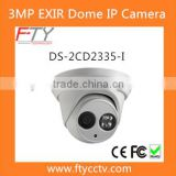 New Products DS-2CD2335-I 1080P Hikvision IP Camera Dome DS-2CD2332-I With French In CCTV System