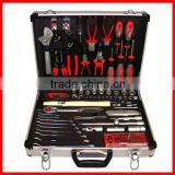 130pc Professional Hand Tool Case Set with Aluminum Case