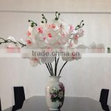 Bulk wholesale artificial flower real touch orchid flower for wedding ceremeony decoration