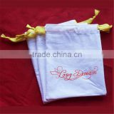 Random Pattern Cotton Drawstring Gift Bags for Jewelry/Wedding/Christmas/Candy Packaging Linen pouch Bags