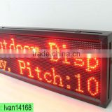 Asram led programming sign display, programable led sign, program led bus message signs board