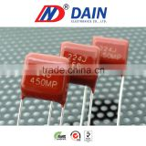Good and high quality (Special)474k 205j 125j 400v metallized polypropylene film capacitors