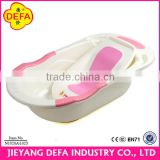 2014 New Design Hotsale Promotional Item Plastic Baby Bath Tub With Stand Baby Bath Tub