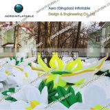 Inflatable flower for decoration / Inflatable flower chain / Inflatable string of flower /I Inflatable snow lotus flower