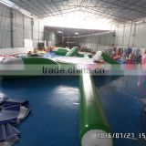Jumpfun inflatable water bouncer and beam blob slide,adults and children inflatable water park with trampoline