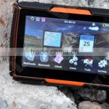 New Version! 4.3 Inch 8GB FM Waterproof Bluetooth GPS Navigator for Motorcycle Moto+Free Maps