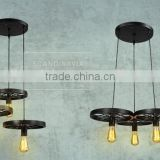 Manufacture Modern DIY Ceiling Lamp Light Pendant Metal Cover Lighting Home Decor