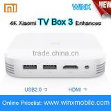 NEW 2016 Original XIAOMI Mi BOX 3 Enhanced TV BOX 3 Pro 4K MT8693 2-core 64 2.0GHz 4K Media Player