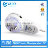 YL-E02 5 in 1 EMS Photon Electroporation Mesoporation radio frequency device for home use/ handheld beauty device
