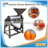 Kiwifruit/Tomato Paste Making Machine/Fruit Pulper pulping Machine with one and two channels(email:millie@jzzhiyou.com)