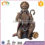 Factory Custom made home decoration polyresin custom hanuman statue