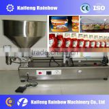 Semi-Auto Peanut Butter Filling Machine For Food