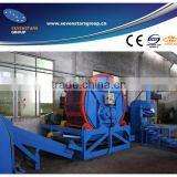 rubber tyre shredder/rubber shredder/crusher/cutter