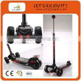 kick scooters with big wheels black maxi kick scooter