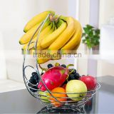 Fruit Bowl and Basket with Banana Holder