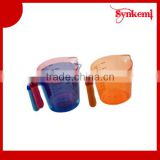 Colorful plastic liquid measure cup wholesale