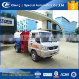 CLW KAMA chassis 2 cbm 3 cbm mini side loader garbage truck rubbish truck most popular in communities and street use