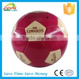 2017 hot sale pvc pu tpu material machine stitched football soccer ball with customized logo