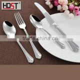 FDA,SGS Certification stainless china flatware;304 stainless steel flatware set used restaurant dinnerware