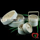 High quality carbonized bamboo steamer
