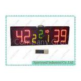 Outdoor Portable Scoreboards For Basketball / Volleyball , Waterproof IP65