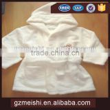 Wholesale 100% cotton soft skin protection kid bathrobe
