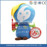 China manufacturer Hot sale fashion plush toy mascot