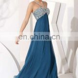 Royal Blue Mermaid Dress Real Sample Prom Dress Long Elegant Bust Beaded Prom Dresses 2012