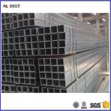 construction DIN Q345 galvanized square carton steel tube