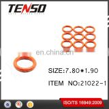 Tenso Fuel Injector O-rings Fuel Injector repair kits ASNU17 21022-1 7.80*1.90