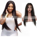 Middle part wigs full lace wig for white women human hair