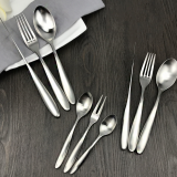 Top quality stainless Steel Wedding Silver plated Children's Health cutlery
