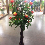 China wholesale artificial fruit tree customized artificial apple tree