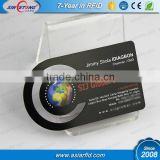 Free design special dimension printing black metal business card, black stainless steel name card (China Manufacturer)
