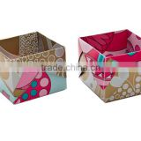 OEM design brown box packaging/luxury gift box/paper gift box                                                                         Quality Choice
