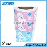 full color self adhesive paper label,waterproof sticker for home and baby care                                                                         Quality Choice