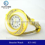 beautiful crystal watch glass face bangle watches for girls bracelet watch women watches