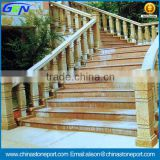 Low Price Chinese G562 Maple Red Exteriot Stairs & Handrail