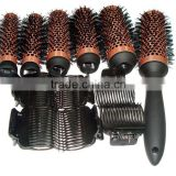 Best selling hair brush set detachable heads brush