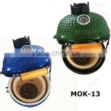 Mini ceramic kamado colorful home charcoal bbq grill china wholesales