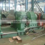 rubber crushing mill/rubber crusher/rubber crasher/rubbe block processing machine for sale