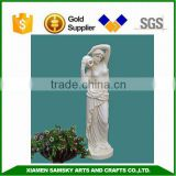 125cmH garden and home decoration fiberclay lady statues                                                                         Quality Choice