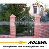 Decorative Cheap Wrought Iron Roof Fence Design/Elegent Wrought Iron Fence Grills Design For Balcony/ Porch