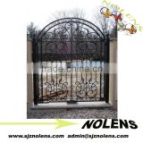 Wrought iron gate garden iron gate /wrought iron gates /Annual Promotion Front Iron Gate Door Prices Supplier