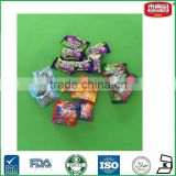 Center Filled Cool Bubble Gum With Independent Packaging Mix Flavor Chewing Gum