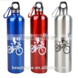 Double Wall Vacuum Flask Stainless Steel CE FDA certificates cycling water bottle joyshaker sport water bottle joyshaker logo