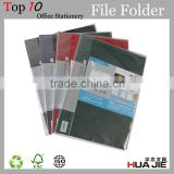 school stationery file folders portfolios a4 plastic folder spring clip file folder