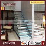 stairway components handrail stair lights crystal glass stair pillar